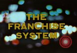 Image of franchise system United States USA, 1974, second 6 stock footage video 65675047267