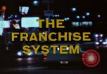 Image of franchise system United States USA, 1974, second 9 stock footage video 65675047267