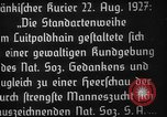 Image of Adolf Hitler Nuremberg Germany, 1927, second 2 stock footage video 65675047282