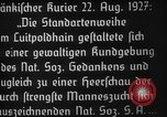 Image of Adolf Hitler Nuremberg Germany, 1927, second 4 stock footage video 65675047282