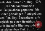 Image of Adolf Hitler Nuremberg Germany, 1927, second 6 stock footage video 65675047282