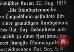 Image of Adolf Hitler Nuremberg Germany, 1927, second 7 stock footage video 65675047282