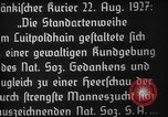 Image of Adolf Hitler Nuremberg Germany, 1927, second 9 stock footage video 65675047282
