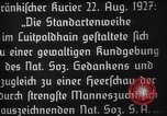 Image of Adolf Hitler Nuremberg Germany, 1927, second 10 stock footage video 65675047282