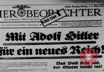 Image of election day Bavaria Germany, 1933, second 8 stock footage video 65675047287