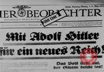 Image of election day Bavaria Germany, 1933, second 9 stock footage video 65675047287