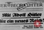 Image of election day Bavaria Germany, 1933, second 11 stock footage video 65675047287