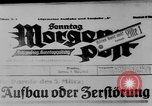 Image of election day Bavaria Germany, 1933, second 12 stock footage video 65675047287