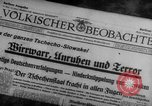 Image of Adolf Hitler Prague Czechoslovakia, 1939, second 8 stock footage video 65675047341