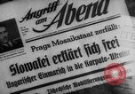 Image of Adolf Hitler Prague Czechoslovakia, 1939, second 11 stock footage video 65675047341