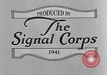Image of wire line team United States USA, 1942, second 10 stock footage video 65675047391