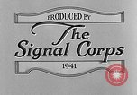 Image of wire line team United States USA, 1942, second 12 stock footage video 65675047391