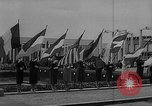 Image of American Pavilion at  Brussels Fair. Middle East, 1958, second 7 stock footage video 65675047400