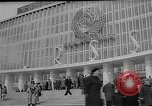 Image of American Pavilion at  Brussels Fair. Middle East, 1958, second 12 stock footage video 65675047400