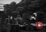 Image of fire at oil plant New Jersey United States USA, 1938, second 9 stock footage video 65675047409