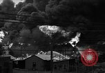 Image of fire at oil plant New Jersey United States USA, 1938, second 11 stock footage video 65675047409