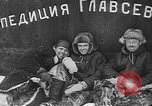 Image of Russian scientists Arctic Ocean, 1938, second 11 stock footage video 65675047414