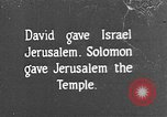 Image of Solomon's Temple Lebanon, 1941, second 1 stock footage video 65675047420