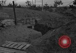 Image of bunker Korea, 1953, second 8 stock footage video 65675047427