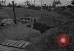Image of bunker Korea, 1953, second 9 stock footage video 65675047427