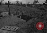 Image of bunker Korea, 1953, second 10 stock footage video 65675047427