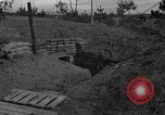 Image of bunker Korea, 1953, second 11 stock footage video 65675047427