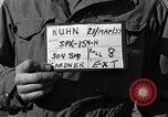 Image of American soldiers Kimpo Korea, 1953, second 5 stock footage video 65675047428