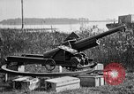 Image of 105 mm antiaircraft gun Aberdeen Proving Ground Maryland USA, 1927, second 10 stock footage video 65675047430