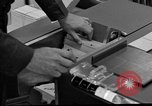 Image of IBM 7090 computer Omaha Nebraska Offutt Air Force Base USA, 1960, second 7 stock footage video 65675047441