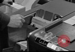Image of IBM 7090 computer Omaha Nebraska Offutt Air Force Base USA, 1960, second 8 stock footage video 65675047441