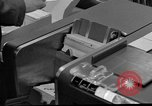 Image of IBM 7090 computer Omaha Nebraska Offutt Air Force Base USA, 1960, second 9 stock footage video 65675047441