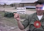 Image of M-110 SP 8-inch howitzer Cu Chi Vietnam, 1967, second 1 stock footage video 65675047442