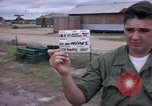 Image of M-110 SP 8-inch howitzer Cu Chi Vietnam, 1967, second 4 stock footage video 65675047442