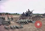 Image of M-110 SP 8-inch howitzer Cu Chi Vietnam, 1967, second 6 stock footage video 65675047442