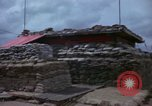 Image of Fire Direction Center sandbagged bunker Cu Chi Vietnam, 1967, second 8 stock footage video 65675047445