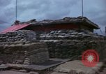 Image of Fire Direction Center sandbagged bunker Cu Chi Vietnam, 1967, second 10 stock footage video 65675047445