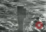 Image of German U-boat Atlantic Ocean, 1945, second 3 stock footage video 65675047449
