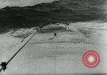 Image of German U-boat Atlantic Ocean, 1945, second 7 stock footage video 65675047449