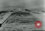Image of German U-boat Atlantic Ocean, 1945, second 8 stock footage video 65675047449