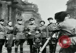 Image of Russian troops in Berlin Berlin Germany, 1945, second 4 stock footage video 65675047459