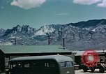Image of radar installation White Sands New Mexico USA, 1946, second 5 stock footage video 65675047462