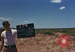 Image of radar equipment White Sands New Mexico USA, 1946, second 7 stock footage video 65675047464