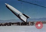 Image of German V-2 rocket White Sands New Mexico USA, 1946, second 1 stock footage video 65675047465