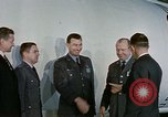 Image of air force officers Denver Colorado USA, 1958, second 7 stock footage video 65675047479