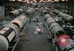 Image of Titan missile production line Denver Colorado USA, 1958, second 7 stock footage video 65675047480