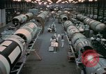 Image of Titan missile production line Denver Colorado USA, 1958, second 8 stock footage video 65675047480