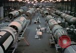 Image of Titan missile production line Denver Colorado USA, 1958, second 10 stock footage video 65675047480