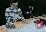 Image of technician Denver Colorado USA, 1958, second 3 stock footage video 65675047485
