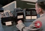 Image of Bendix keyboard United States USA, 1958, second 2 stock footage video 65675047489