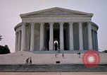Image of Jefferson Memorial Washington DC USA, 1962, second 3 stock footage video 65675047501